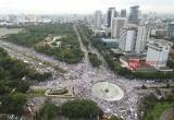 Aksi Super Damai 212 di Jakarta