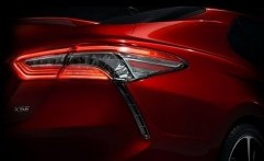 Toyota Rilis Teaser All New Camry 2018