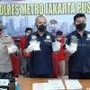 Polisi Tangkap Tiga Kurir Narkoba di Jakarta Pusat