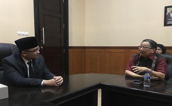 Ketua INTI bertemu Wagub Banten Andika