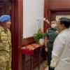 Menhan Prabowo Sanjung Koptu Hardius Rusman yang Fasih 7 Bahasa Asing