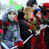Dukungan 'Cinta' untuk Alexei Navalny di Hari Valentine