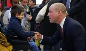 Awal Tahun 2018 Pangeran William Botak, Ada Apa?
