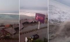 Pascagempa 7,7 SR, Tsunami 1,5 Meter Terjang Palu