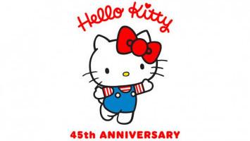 Hello Kitty Sudah Berusia 45 Tahun