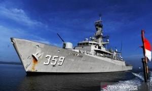 Indonesia Kirim Dua Kapal Perang ke Timor Leste