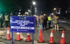 Terkait Jam Malam, Ini Jalan-Jalan di Jakarta Terkena Penyekatan