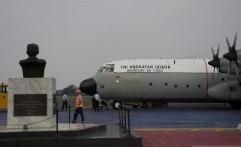 TNI AU Siapkan Pesawat Hercules Jemput Jenazah Ani Yudhoyono