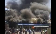 Gudang Kompleks Pesantren Gontor Kebakaran