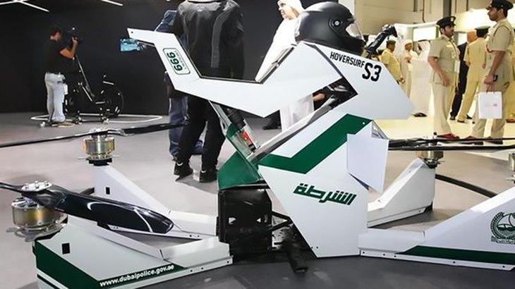 Hoverbike Dipakai Polisi Dubai Berpatroli