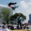 [Hoaks atau Fakta]: Helikopter Israel Jatuh Ditembak Rudal Palestina