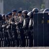 Ribuan Aparat Keamanan Kawal Duel Persib Vs Persija di Bali