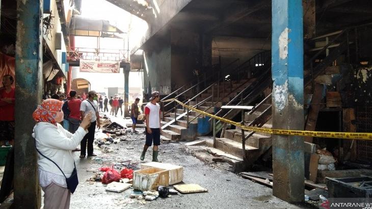 Dua Pasar Terbakar Jelang Puasa, IKAPPI Minta Pedagang Giat Ronda