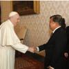 Temui Paus Fransiskus, Jusuf Kalla Bicarakan Soal Perdamaian