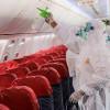 Mengintip Proses Sterilisasi Pesawat Lion Air