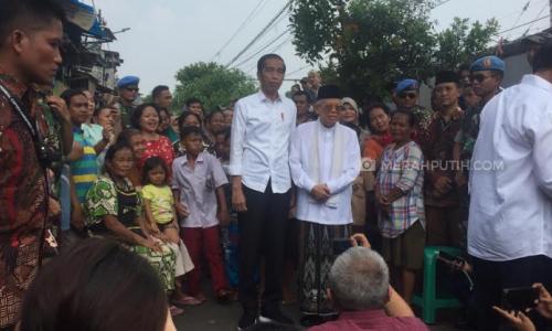 Jokowi Pidato Kemenangan Pilpres di Kampung Deret, Catat Janjinya!