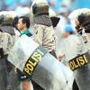 1.079 Aparat Gabungan Diturunkan Jaga Demo Buruh di DPR