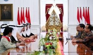 Terima Kunjungan Parlemen Bahrain, Presiden Jokowi Undang Raja al-Khalifa