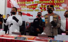 Bareskrim Bongkar Pabrik Obat Keras Ilegal di Yogyakarta