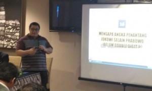 Survei Median: Elektabilitas Jokowi dan Prabowo Tergerus