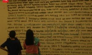 Pameran Art and Culture Day dari Sekolah Kreatif SMA 9