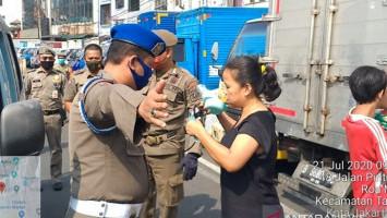 Jakarta Zona Merah, Pengawasan Protokol Kesehatan Terhadap Warga Dimasifkan