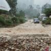 Longsor Muara Emat Putus Jalur Provinsi Kerinci-Bangko