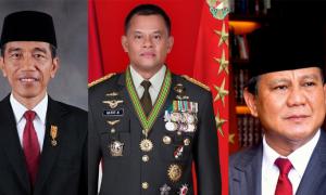 Survei TII: Jokowi Makin Unggul, Gatot Nurmantyo Salip Prabowo