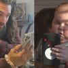 Jason Momoa Kejutkan Anak Pengidap Kanker