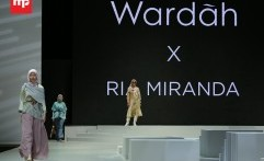 Koleksi Busana Ria Miranda di Indonesia Fashion Week 2017
