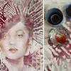 Mengintip Karya Seni Lukis Unik dari Anggur Merah