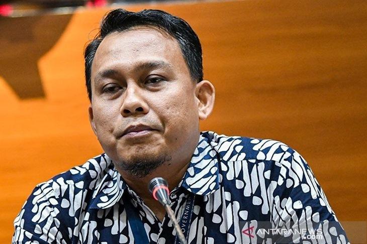 Pelaksana Harian (Plh) Juru Bicara KPK Ali Fikri. (ANTARA FOTO/M Risyal Hidayat/wsj/pri.)