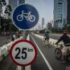 Sepeda Belum Diperbolehkan Melintas Sudirman-Thamrin