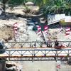 TNI Rampungkan 2 Jembatan di NTT Yang Rusak Akibat Siklon Seroja
