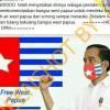 [Hoaks atau Fakta]: Presiden Jokowi Setuju Melepas Papua Barat