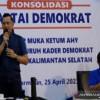 AHY Semangati Kader Demokrat Menangkan Pemungutan Suara Ulang Gubernur Kalsel
