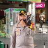 Tak Terima Dirazia Masker, Pedagang Pasar Metro Atom Ngamuk