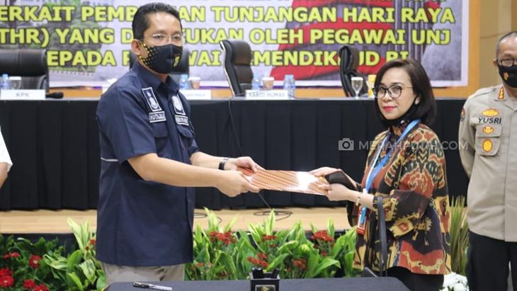 Terjerat Kasus Dugaan Pungli, Rektor UNJ Bakal Diproses Internal Kemendikbud