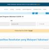 [Hoaks Atau Fakta]: Ada dua situs pedulilindungi.com dan pedulilindungi.id