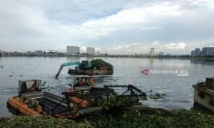 Pemprov DKI Klaim Hanya Sepertiga Waduk Pluit Terendam Sedimen