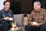 Pertemuan Bersejarah SBY dengan Jokowi
