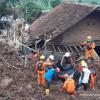 Meninggal 21 dan Hilang 19 Orang, Jokowi Beri Perhatian Pada Longsor Sumedang