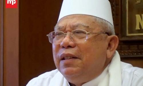Besok KH Ma'ruf Amin Berangkat Haji Bersama Keluarga