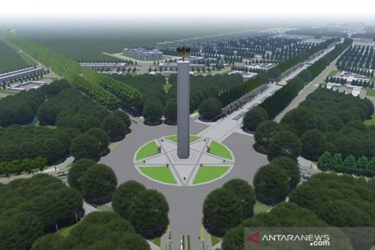 Gagasan rencana dan kriteria disain ibu kota negara. (ANTARA/Paparan Kementerian PUPR/am/h-fdh)