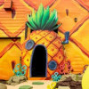 Rumah Nanas Spongebob Kini Ada di Dunia Nyata