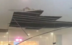 Bukan karena Ledakan, Bangunan Dalam Mal Margo City Rusak Akibat Plafon Jatuh
