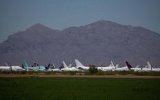 Kemana Pesawat Parkir Selama Pandemi COVID-19?