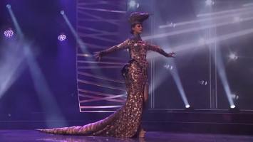 Mewahnya Kostum Komodo Indonesia di Miss Universe