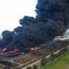 Tujuh Korban Luka Berat Kebakaran Kilang Balongan Dibawa ke Rumah Sakit