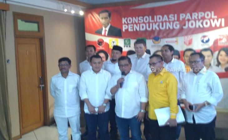 Kubu Jokowi-Ma'ruf Amin Latih Jubir Tim Pemenangan Pilpres Hari Ini